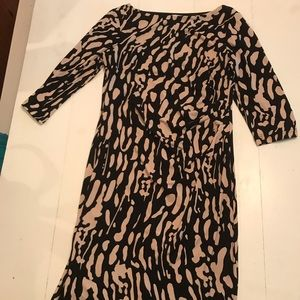 Eliza J Cheetah print cocktail dress